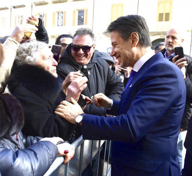 Il Presidente Conte a Campobasso