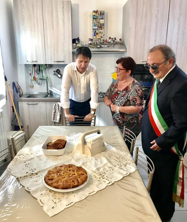 Conte a Pescara del Tronto