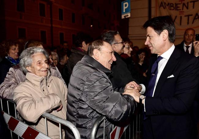 Il Presidente Conte a Genova