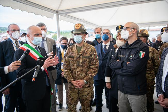 Il Commissario straordinario in visita in Molise e Abruzzo