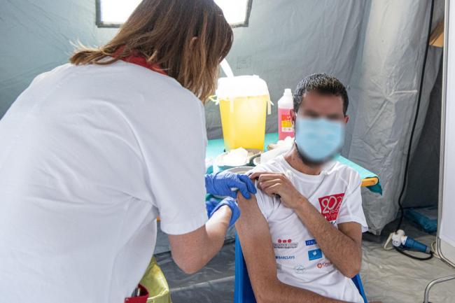 Seconda giornata di vaccinazioni anti-Covid-19 in favore degli Afghani arrivati in Italia
