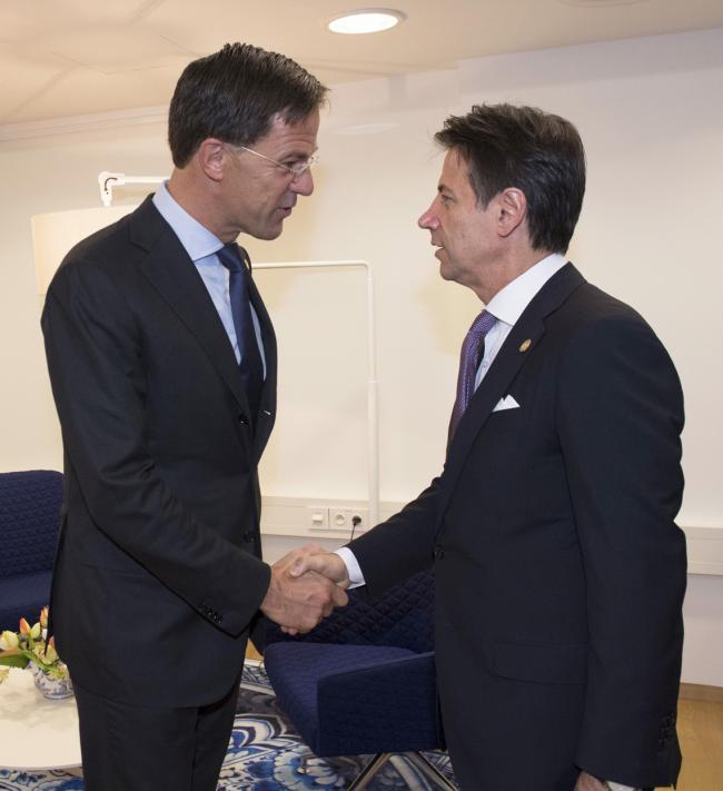 Incontro bilaterale Conte - Rutte