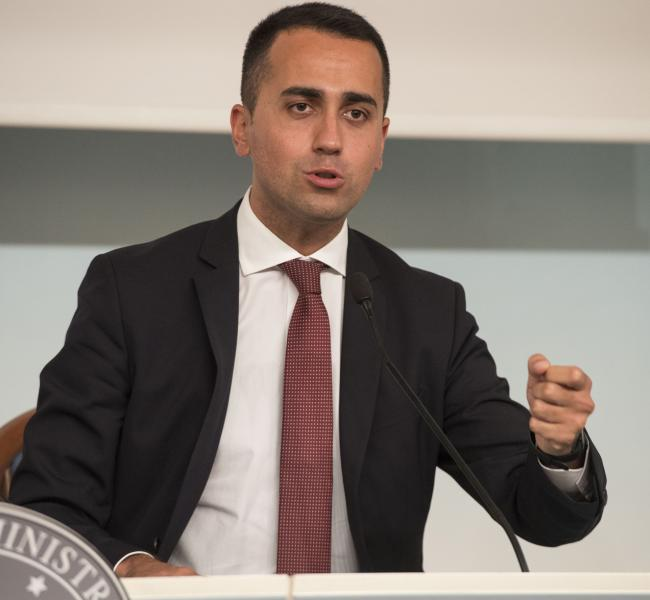 Ddl #SpazzaCorrotti, il Ministro Di Maio in conferenza stampa