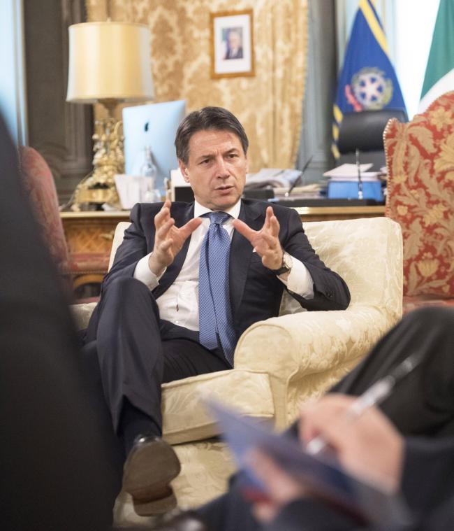 Intervista del Presidente Conte a Avvenire