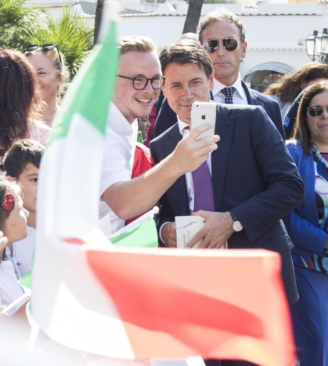 Il Presidente Conte visita i Comuni terremotati di Ischia