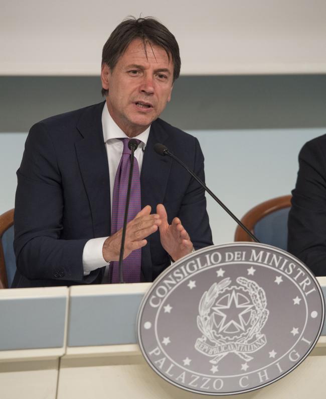 Ddl #SpazzaCorrotti, il Presidente Conte in conferenza stampa