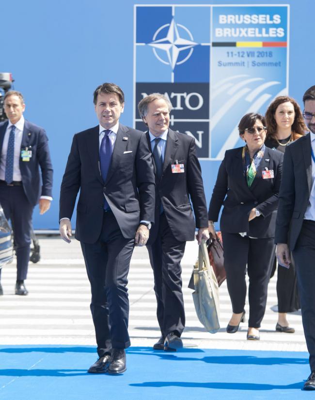 Il Presidente Conte al Vertice Nato