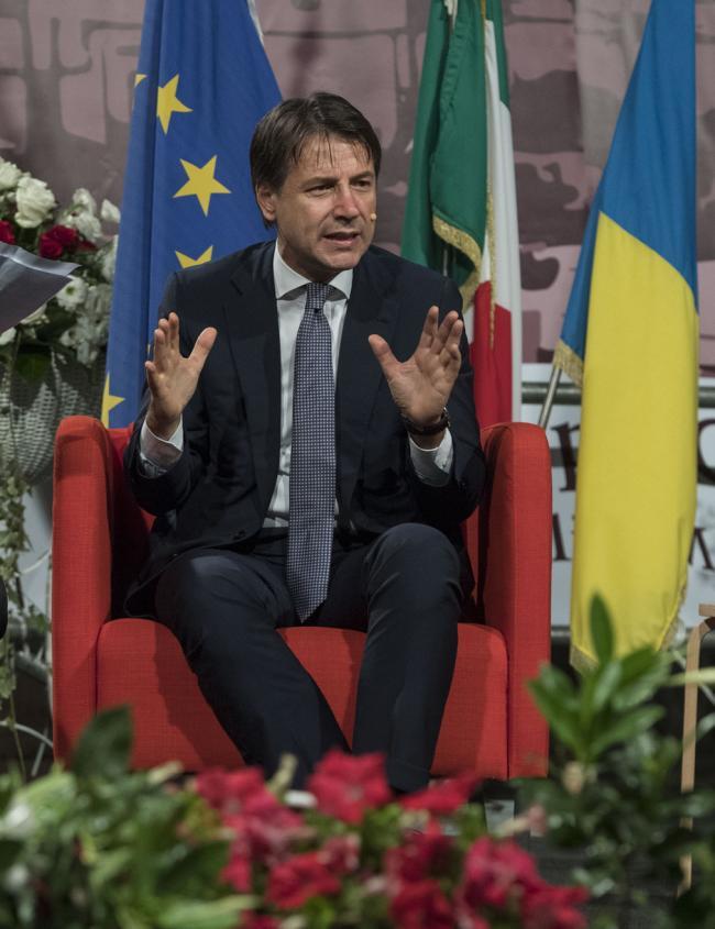 Il Presidente Conte a Ceglie Messapica