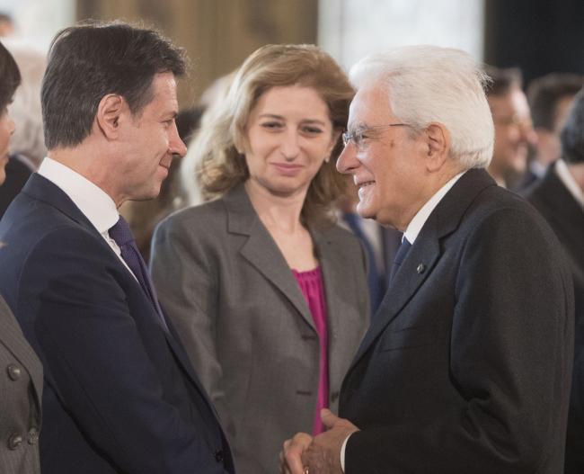 Giorno del Ricordo, il Presidente Conte con il Presidente Mattarella al Quirinale