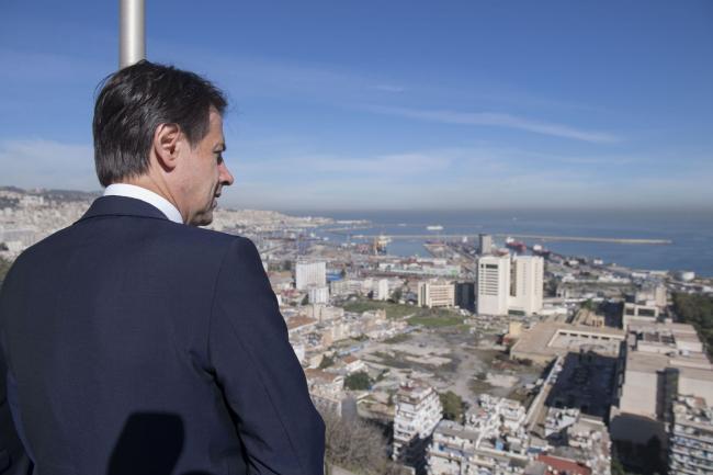 Il Presidente Conte ad Algeri