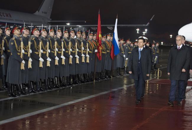 Il Presidente Conte a Mosca