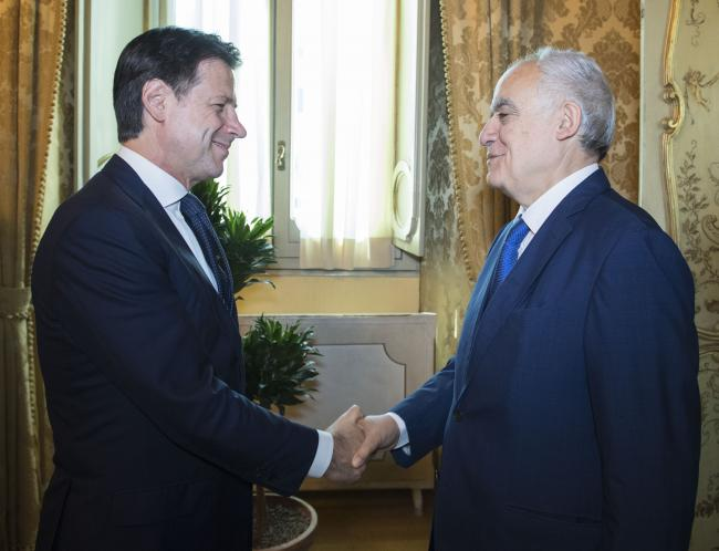 Conte riceve Ghassan Salamé