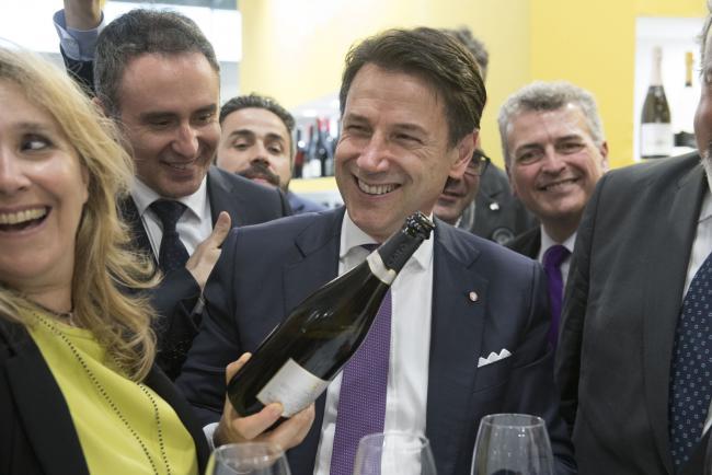 Il Presidente Conte a Vinitaly