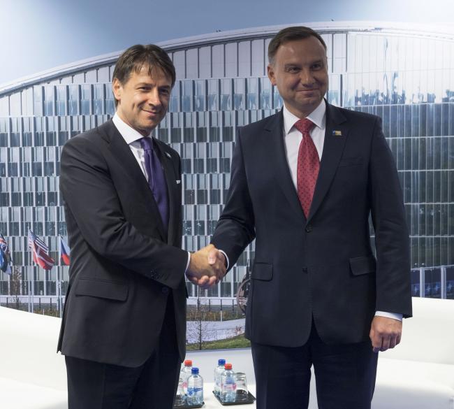 Conte al Vertice Nato