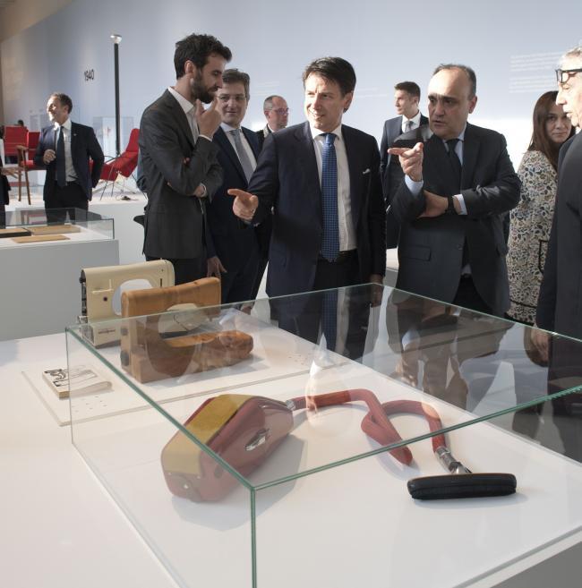 Inaugurazione del Museo Permanente del Design italiano