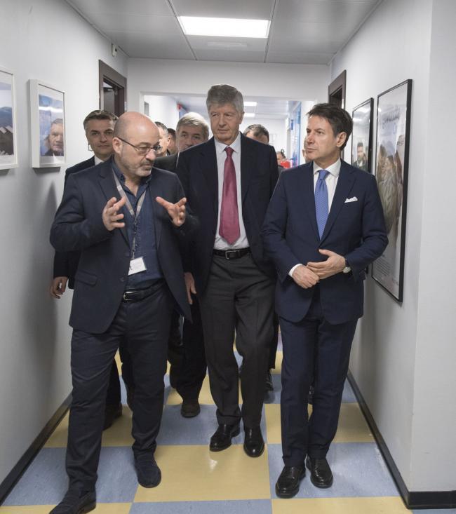 Il Presidente Conte all'Istituto Italiano di Tecnologia
