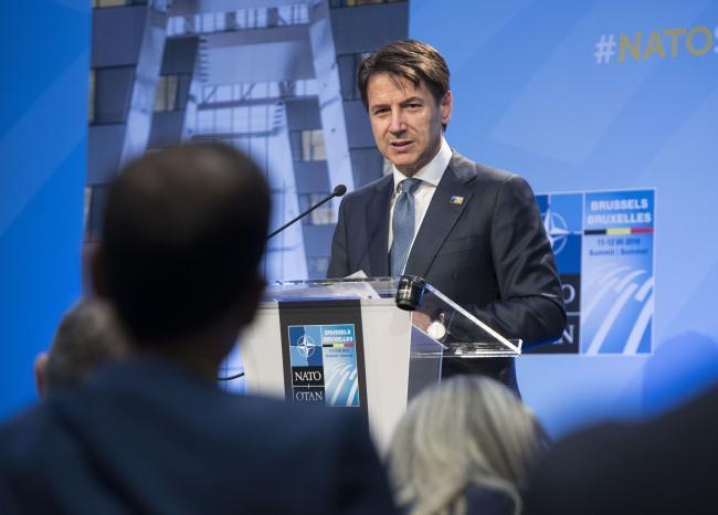 Conte al Vertice Nato, seconda giornata dei lavori