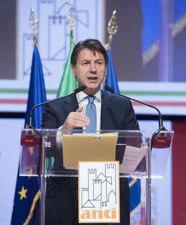 Il Presidente Conte all'Assemblea annuale dell'Anci