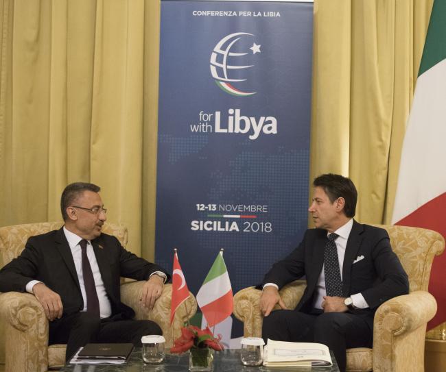 Incontro bilaterale Conte-Oktay - Bilateral meeting Conte-Oktay
