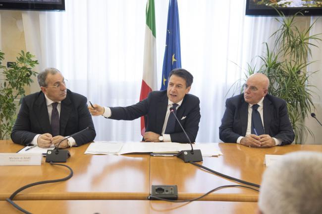Il Presidente Conte a Reggio Calabria in Prefettura