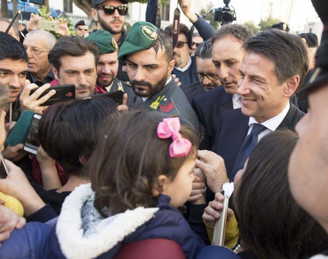 Il Presidente Conte a Reggio Calabria