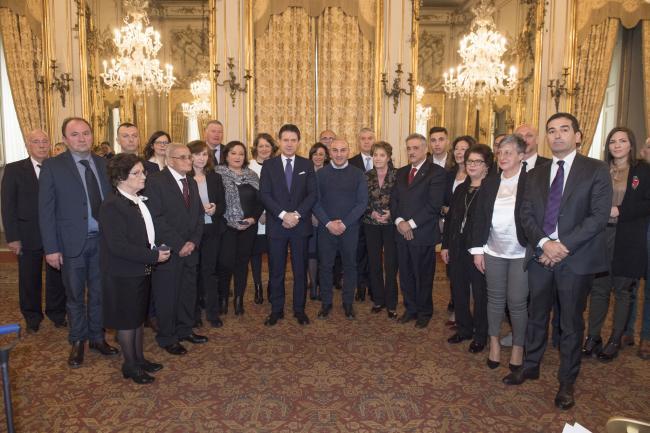 Giorno del Ricordo, il Presidente Conte alla cerimonia di consegna delle medaglie commemorative