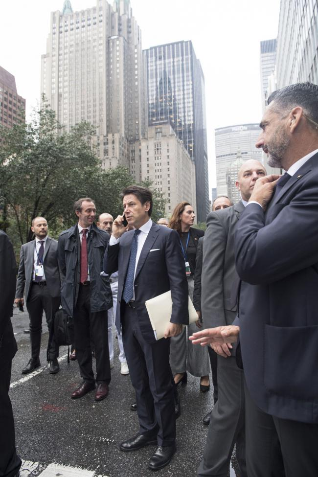 Il Presidente Conte a New York