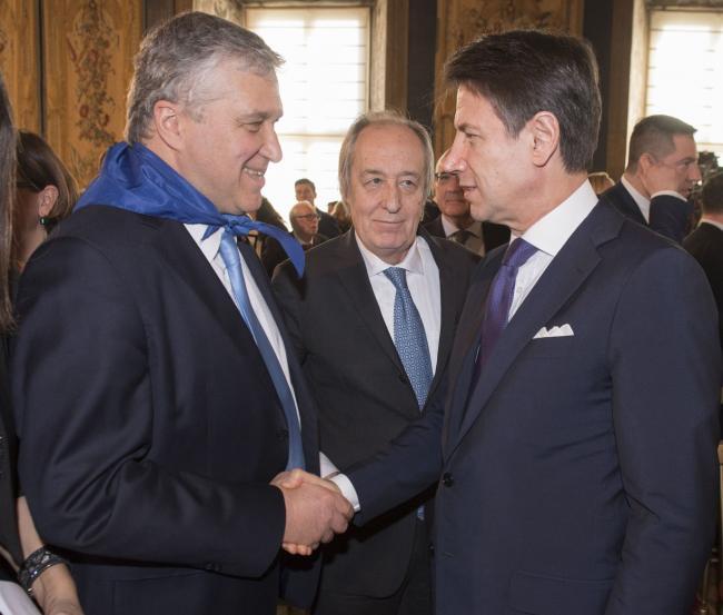 Giorno del Ricordo, il Presidente Conte con il Presidente di Federesuli al Quirinale