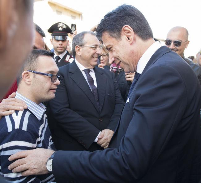 Il Presidente Conte a Locri