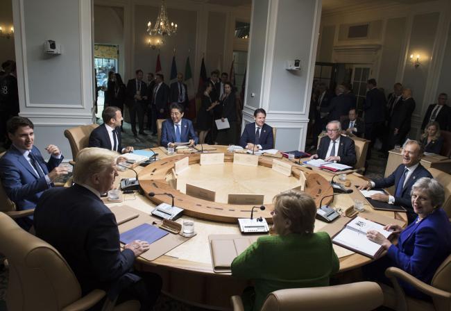 Il Presidente Conte al G7 in Canada