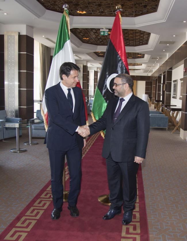 Il Presidente Conte in Libia