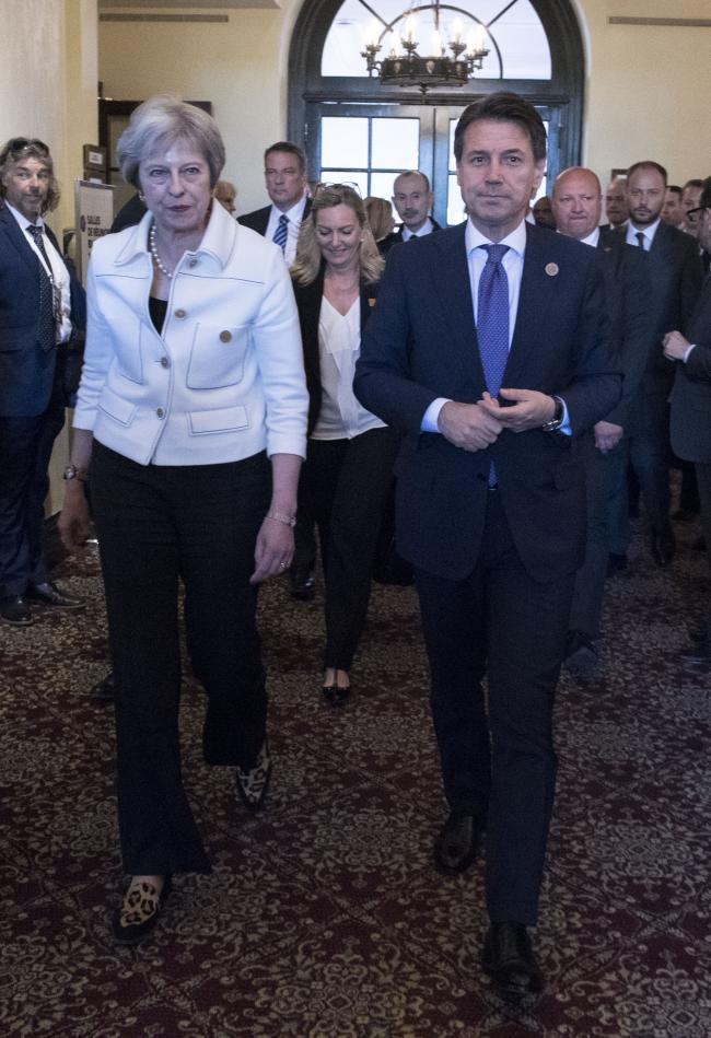 Il Presidente Conte al Vertice G7