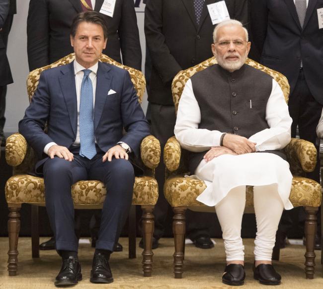 Il Presidente Conte partecipa all'India Italy Technology Summit