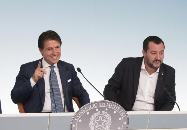 Conferenza stampa al termine del Consiglio dei Ministri n.20