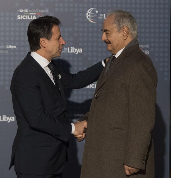 #ForLibyaWithLibya, la cerimonia di accoglienza - Welcome ceremony