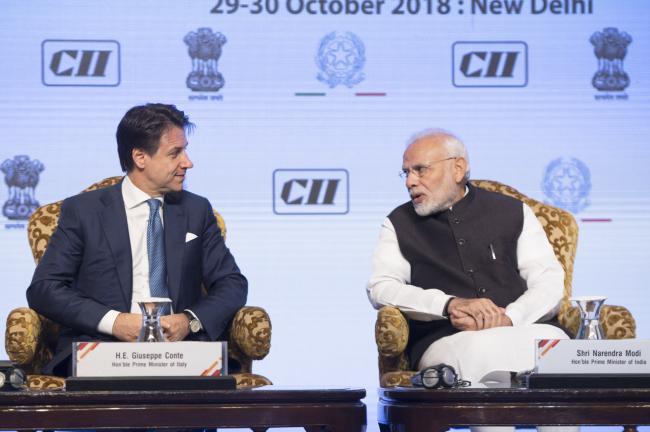 """Il Presidente Conte partecipa all'""""India Italy Technology Summit"""""""