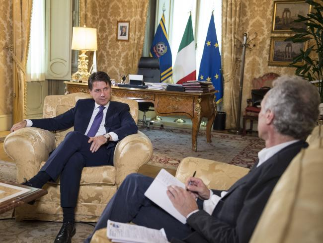 Intervista del Presidente Conte al Fatto Quotidiano