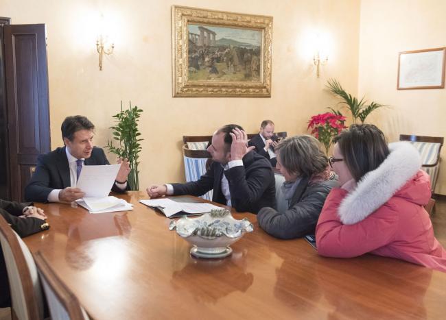 Il Presidente Conte in Prefettura a Potenza