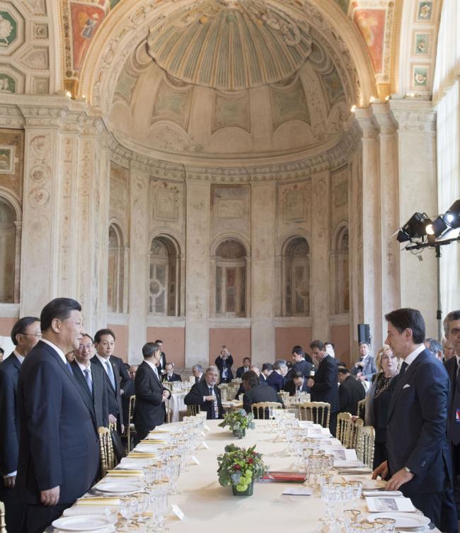 Colazione delle delegazioni ufficiali