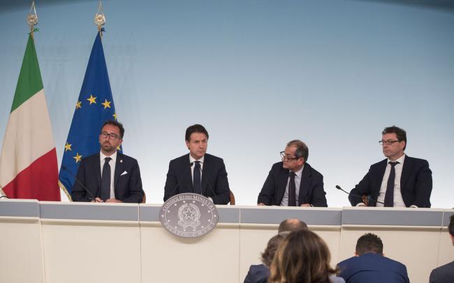 Conferenza stampa del Consiglio dei Ministri n. 11