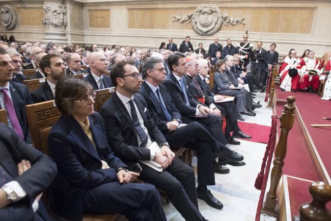 Il Presidente Conte all'inaugurazione dell'Anno Giudiziario