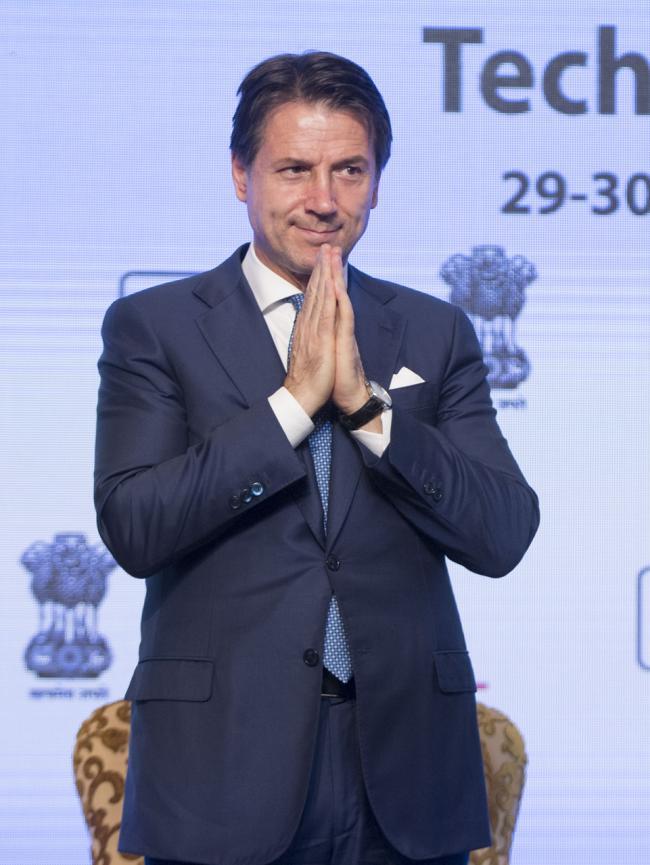 Il Presidente Conte partecipa all'India-Italy Technology Summit