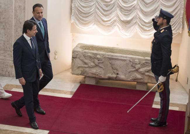 Il Presidente Conte incontra il Primo Ministro della Repubblica d'Irlanda
