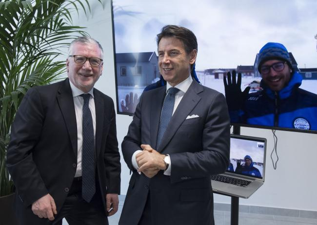 Il Presidente Conte visita le strutture del Cnr Nanotec