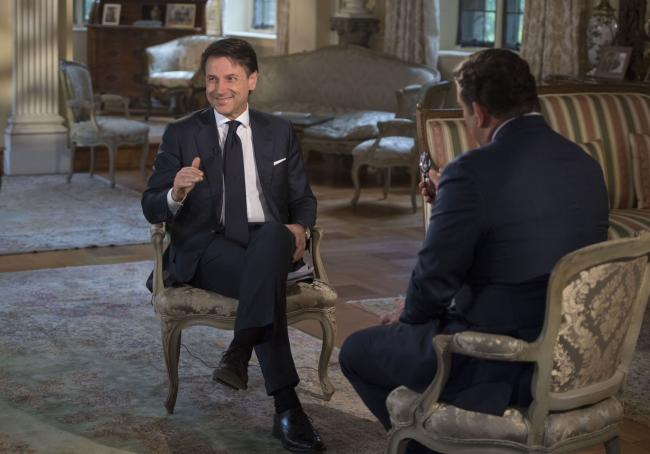 Il Presidente Conte intervistato da Fox News