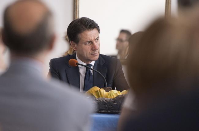 Il Presidente Conte all'Istituto Regionale Rittmeyer per i Ciechi