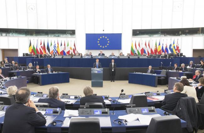 L'intervento del Presidente Conte al Parlamento europeo