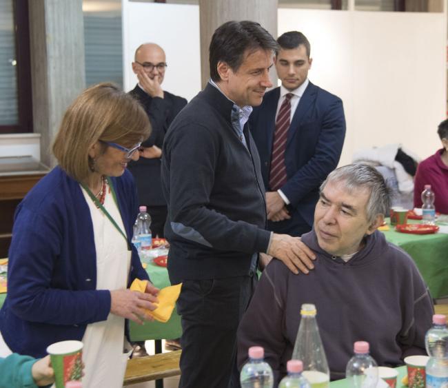 Il Presidente Conte in Abruzzo