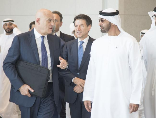 Il Presidente Conte negli Emirati Arabi Uniti