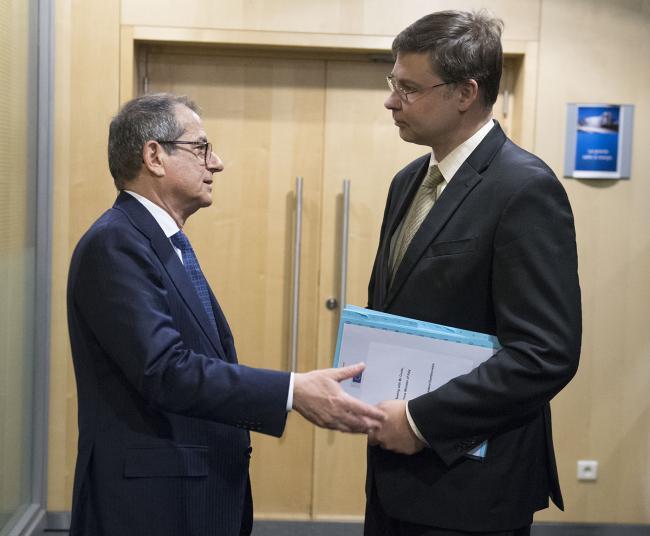 Il Ministro Tria a Bruxelles